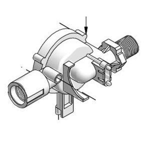 VOLUTA PARA ENCAIXE ( SINCRONA) Pressurizador Maxi turbo