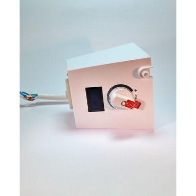 Modulo-Ducha-Eletronica-Square---Polo-Plus---Quadratta-Hydra-127V