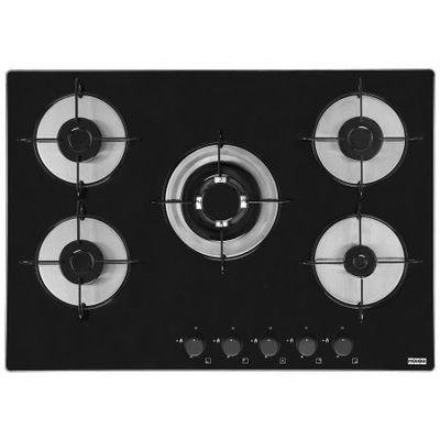 Cooktop-5-Bocas-Franke-Pratica-GLASS-70-GTC-a-Gas---Tripla-Chama-Acendimento-Superautomatico